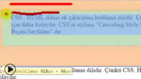 margin ve padding Kullanımı